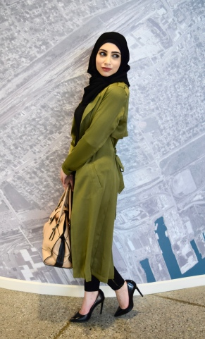 Black Premium Chiffon Hijab
